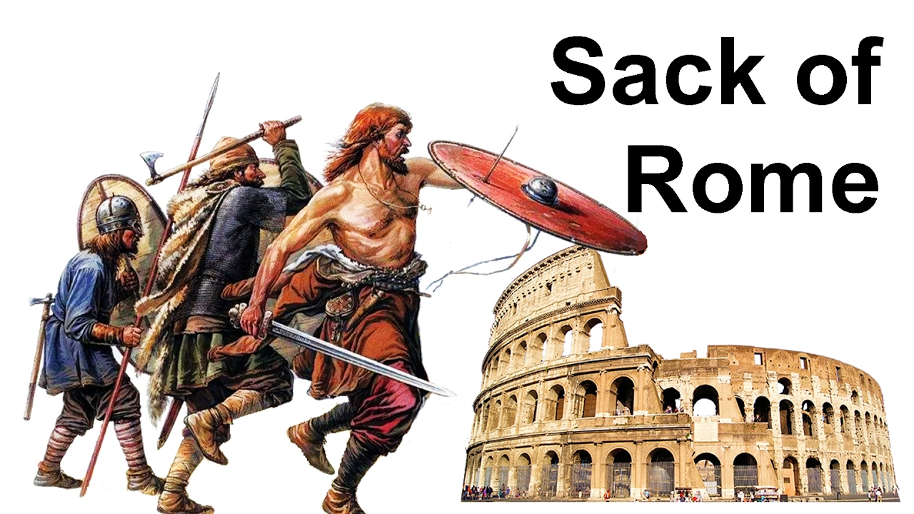 History: August 24 - On this day back in 410 Rome was ...